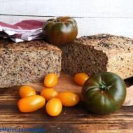 Orkiszowy chleb z otrębami i lnem