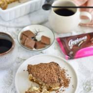PRZEPIS NA TIRAMISU Z GRUSZKAMI i czekoladą Goplana
