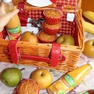 Zdrowe soki Victoria Cymes i owsiane babeczki – nasz tradycyjny kosz wycieczkowy