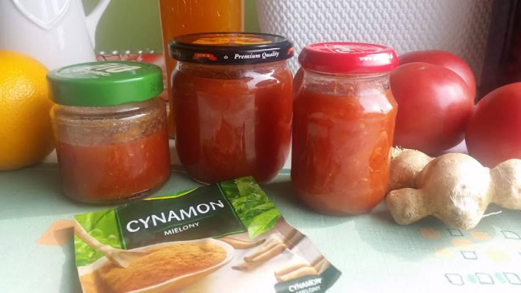 Marmolada pomidorowo pomarańczowa