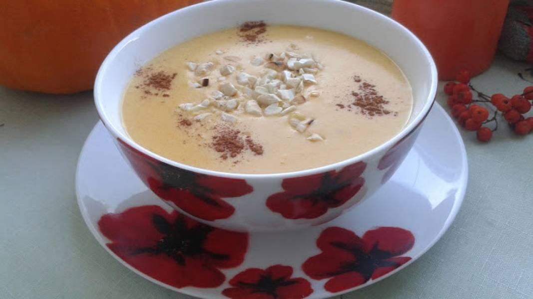 Zupa z dyni waniliowo - cynamonowa