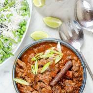 Jesienne ostre curry z wołowiną