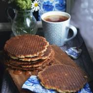 Domowe Stroopwafels, czyli holenderskie wafle z syropem