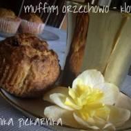 Muffiny orzechowo  - klonowe