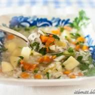 Zupa ryżowa na jesienną rozgrzewkę