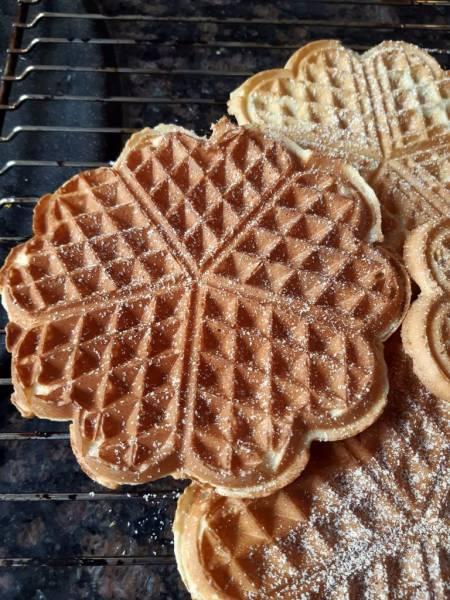 Domowe wafle serduszka – najlepszy przepis!
