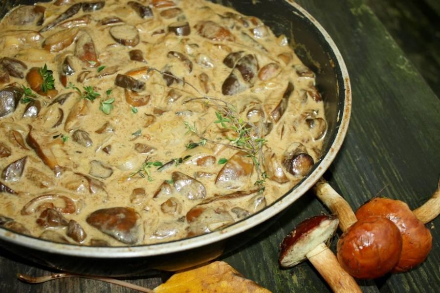 Genialny sos grzybowy z podgrzybków