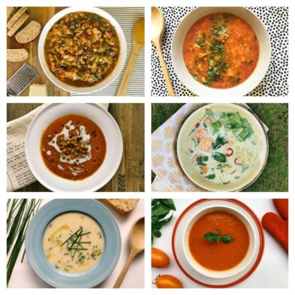 Gorące zupy na jesienne chłody