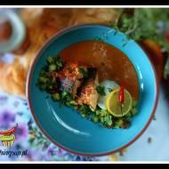 Dorsz z sosem curry