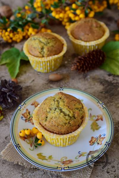 Muffinki bananowo makowe