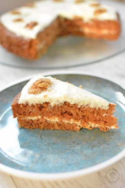 Ciasto marchewkowe z kremem  - najlepsze!