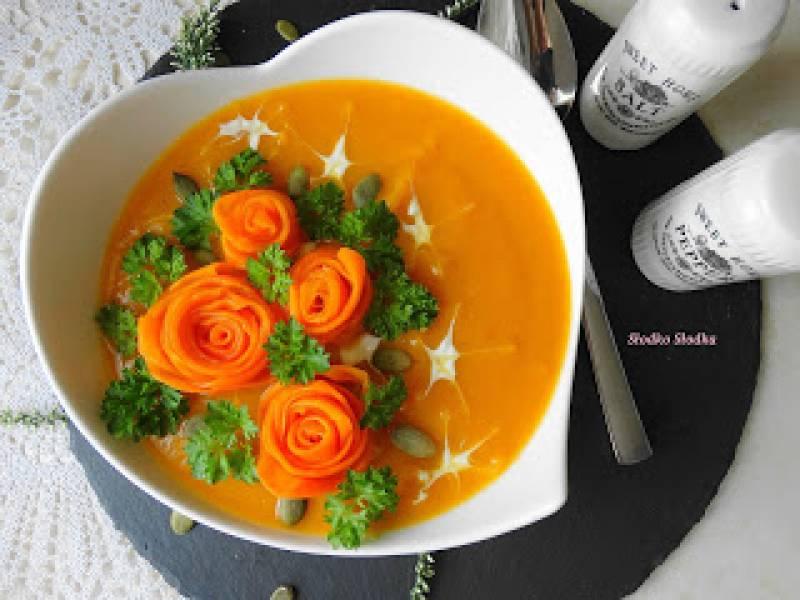 Zupa Krem z Dyni.