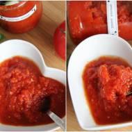 Domowy przecier pomidorowy - baza do zup i sosów