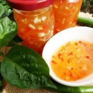 Sos chili słodko ostry do słoików