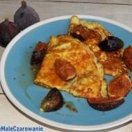 Naleśniki z karmelizowanymi figami i tymiankiem