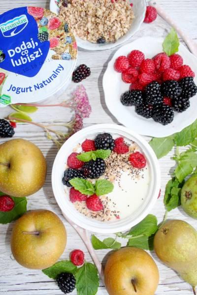 Moje ulubione śniadanie – Jogurt naturalny Dodaj, co lubisz!