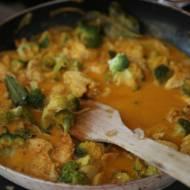 Curry masala z kurczaka, szybko i pysznie