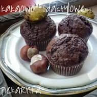 Muffiny kakaowo - daktylowe