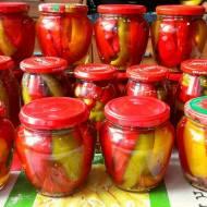 Papryka konserwowa w zalewie miodowej