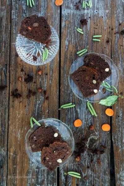 Ciasto marchewkowo - piernikowe