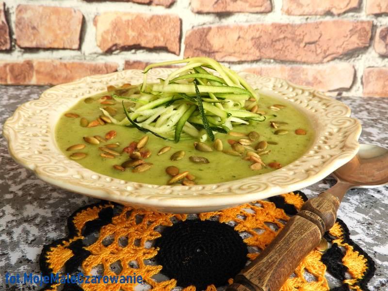 Zupa krem z cukinii i awokado