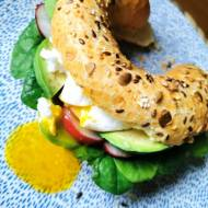 Śniadaniowe inspiracje – kanapka z awokado i jajkiem w koszulce