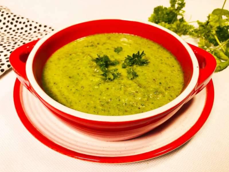 Środa: Najlepsza szpinakowa z pieczonymi warzywami