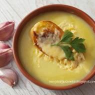 Zupa czosnkowa z grzankami -w 30 min