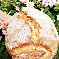 Chleb pszenno-graham z płatkami na mleku kokosowym