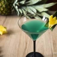 Zielony Ananas - przepis na drink z malibu w zielonej odsłonie