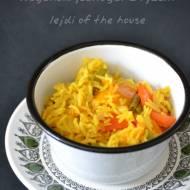 Wegański jednogar z ryżu i warzyw...