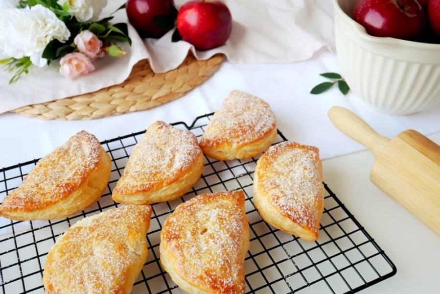 Ciastka z jabłkami – Chausson aux pommes