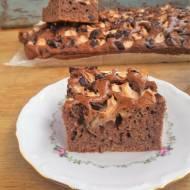 Ciasto czekoladowe z jabłkami / Chocolate Apple Cake