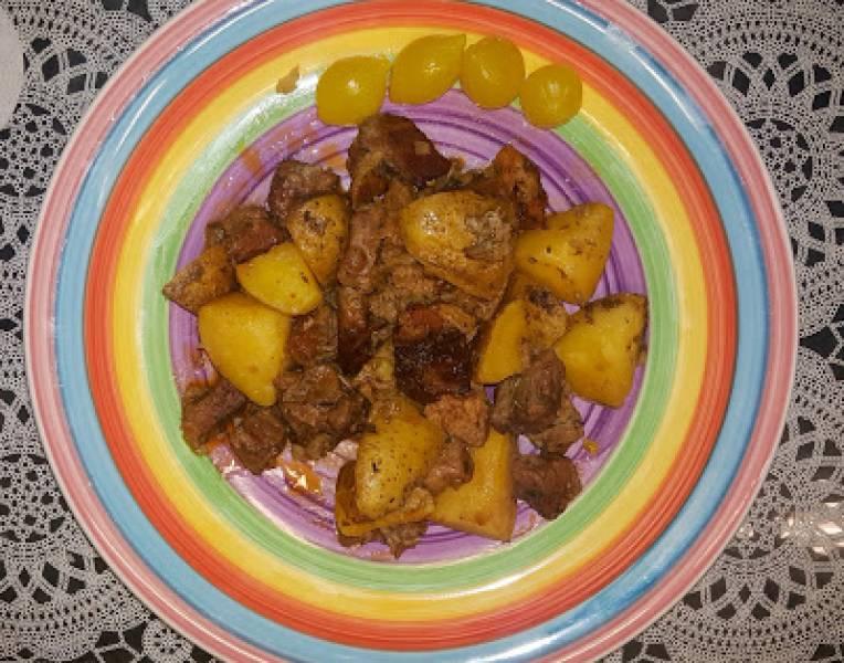 Karkówka z ziemniakami w worku