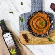 Pasta Z Fasoli Z Suszonymi Pomidorami I Olejem Konopnym