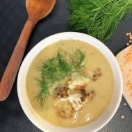 Zupa krem z pieczonym kalafiorem