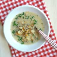 Zupa z maślaków.
