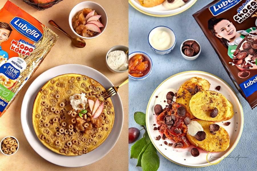 2 smaczne śniadania z płatkami Lubella