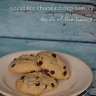 Wegańskie chocolate chip cookies - bez szalonych składników!