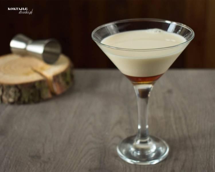 Caffe Malibu - przepis na drink z malibu wzbogacony o likier kawowy