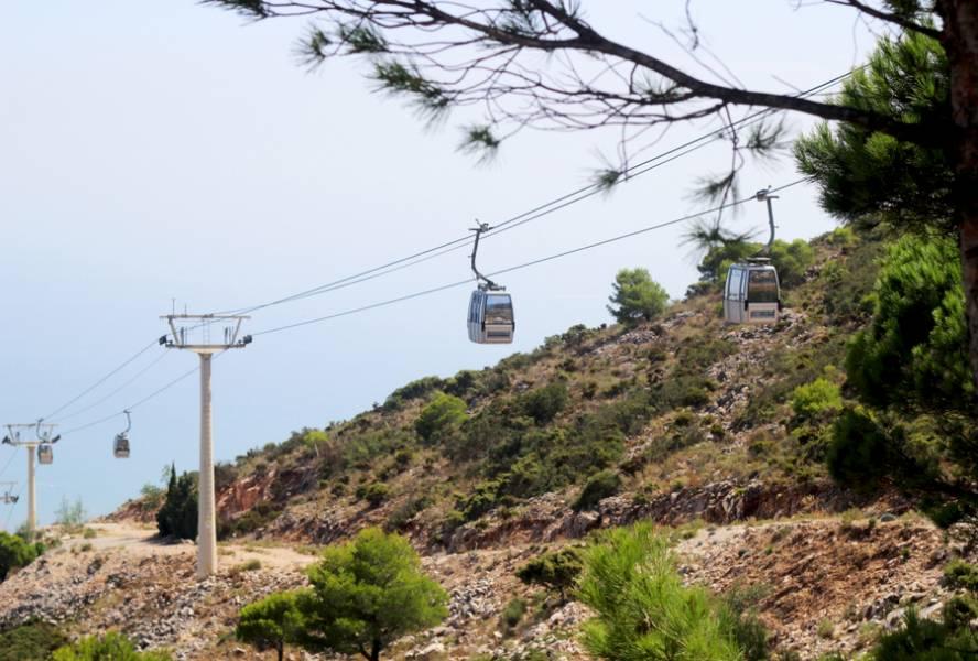 KOLEJKA LINOWA TELEFERICO NA SZCZYT CALAMORRO – najpiękniejszy widok na na wybrzeże Costa del Sol