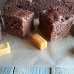 Ciasto czekoladowo-krówkowe