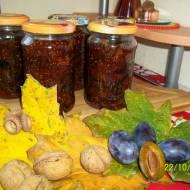 Dżem śliwkowo - figowy