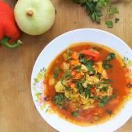 Zupa gulaszowa z kurczakiem / Chicken Goulash Soup