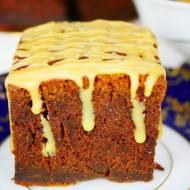 Ciasto dyniowe czekoladowe