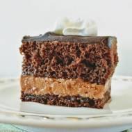 Amandine - tradycyjny tort czekoladowy z Rumunii