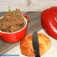 Pasta z soczewicy i papryki