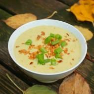 Zupa serowo brokułowa