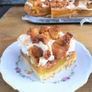 Szarlotka Słoneczna z budyniem i bezą / Apple Pudding Shortcake 'Sharlotka