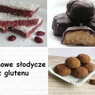 Jakie słodycze bez glutenu przygotować w domu?